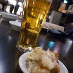 フラミンゴ - 先ずは、ビールで乾杯☆