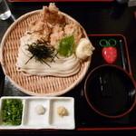 瀬戸内製麺710 - とり玉天ざる(H26.2.11)