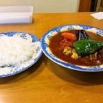24264788 - かき野菜 ごはん少なめ(全貌)