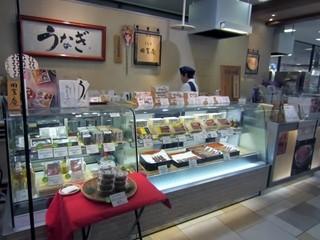 うなぎ田舎庵 博多阪急 - お店は博多阪急の地下一階にありますよ