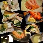 甲羅 - 料理写真:かに会席「花水木」¥6,000-