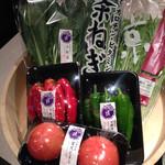 レストラン御倉 - 出所の知れた京野菜が準備されてます!