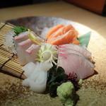 川村料理平 - お造り盛り合わせ