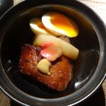 川村料理平 - 豚の角煮