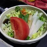 松永牧場 - サラダ