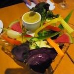 ピアンタ - 農園野菜のバーニャカウダ ハーフサイズ