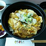 阿波膳ODORI - 阿波尾鶏親子丼(2014/02/13撮影)