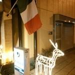 カフェバージャッロ - クリスマスにはトナカイがお出迎え