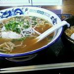 らーめん 蔵打麺 - チャーハンセット