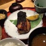 旬の味 たき下 - 金目鯛の西京焼き