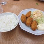 24270179 - 牡蠣フライ定食+330円