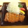 Katsukiyuu - 料理写真:200gのボリューム! 特上ロースかつ定食