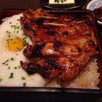 24273829 - 鶏のとろろ重(ごはん大盛り) ¥840