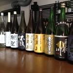 24275195 - 日本酒(純米酒のみ) 常時20種類以上。今話題の獺祭も5種類用意しております。
