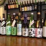24275354 - 定期的に新しい日本酒も入荷しております。