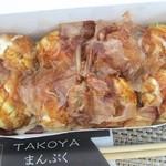 TAKOYA まんぷく - 料理写真:たこ焼き+ソース