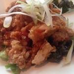 zanikugyouzashisenshuubou -  油淋鶏。味付けが美味しく、ボリュームもあり。CP◎