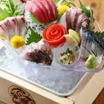 海風土 - 料理写真:名物「海の玉手箱」