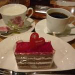 リバージュ - カフェオレ、珈琲、ケーキ