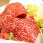炭火焼肉 明月苑 - 仙台牛すき焼きランチ