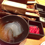 にじいろ - お通し(心太)525円