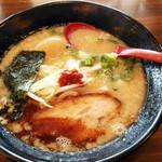 24280468 - 2014/2/15再訪 武蔵ラーメンの黒&半熟煮玉子追加