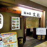 鍛冶屋 文蔵 - オフィスが入るビルの地下にある「鍛冶屋文蔵 中野坂上店」