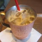 上島珈琲店 - 無糖アイスミルクコーヒー