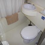 サウスブリーズホテル - 「旧館 ツインルーム バスルーム」 2014年2月