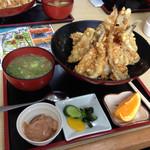 深海魚料理 魚重食堂 - 深海天丼1100円
