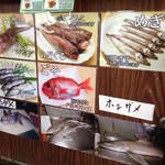 深海魚料理 魚重食堂 - 深海魚の説明