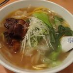 24284261 - 角煮刀削麺980円