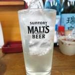 かねイシ - レモンサワー450円