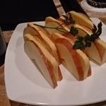 マルコポーロ - チーズのリンゴサンド