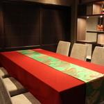 魚菜えぼし庵・隠座 - えぼし庵・隠座(ONZA)としてリニューアルしたテーブル席