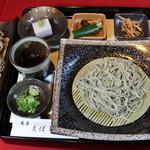 魚菜えぼし庵・隠座 - 『そば会席』十割そば・季節の変わりそば・そばがきぜんざい。