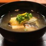 和食 おの寺 - 聖護院大根すり流し 鱈