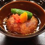 和食 おの寺 - 海老芋の揚げ出し