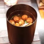 和食 おの寺 - なめこ の 味噌汁