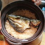 和食 おの寺 - 瀬つき鯵の炊き込みご飯