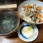 力 - 牡蠣ご飯