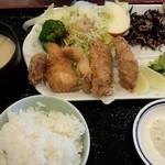 浜浪 - ミックスフライ定食
