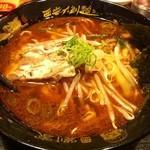 劉家 西安刀削麺 - 辛口厚切叉焼刀削麺