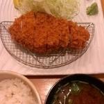 はせ川 - 上ロースかつ(1800円)