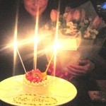 THE COSMOPOLITAN  - お誕生日ケーキと2月の花束
