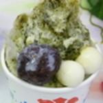たつ吉 - 夏限定!抹茶ミルク380円。和菓子屋さんの本格抹茶とこだわり餡子のハーモニーを是非!