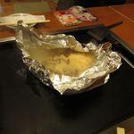 海鮮もんじゃ けい - ホイル焼き(きのこ類)