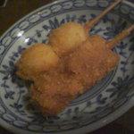 元町ヱビス - 串☆シューマイ・ジャガイモ