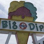 ブルーシール・ビッグディップ - 大きな看板