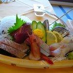 海鮮レストラン ヨットハーバー - 料理写真:舟盛り(1人前)
